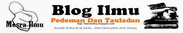 Blog Ilmu