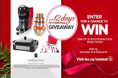 The Shopping Channel 12 Days of Christmas Giveaways