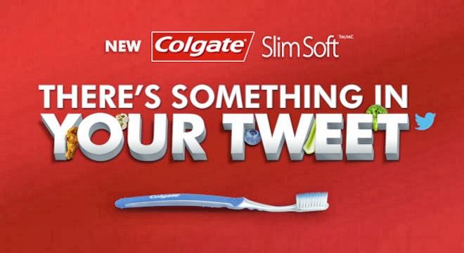 Colgate: Hay algo en tu tweet