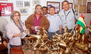 Delicia Andrade preside el Comité Pro Mar y como tal la reiivindicación