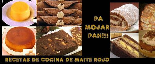 PA MOJAR PAN - POSTRES