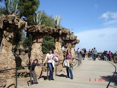 coloane cu agave