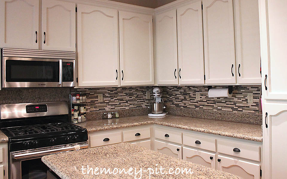 S Kitchen Cabinets Cool Kitchen Reveal 80S To Awesome  The Kim Six Fix Design Ideas