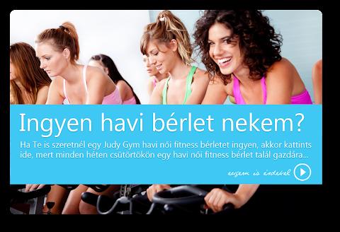 Alizetics a Judy Gym Fitnessben