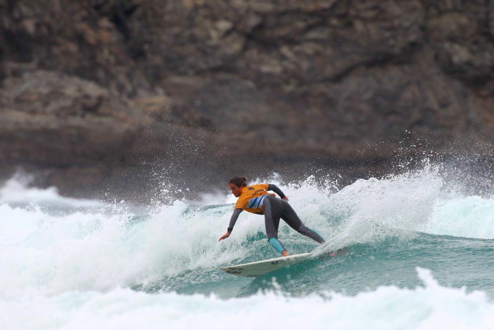58 Ana Morau FRA Pantin Classic Galicia Pro 2015 Foto WSL