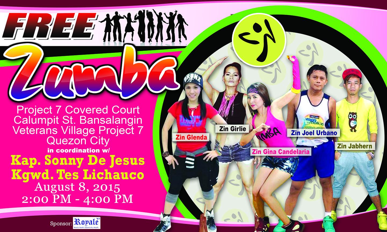 T-shirt design for zumba - Zumba Poster