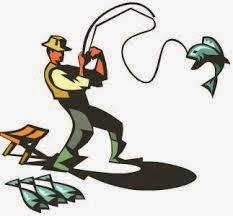 Gambar Orang Sedang B Memancing B Ikan Gambar Lucu Gif Kartun