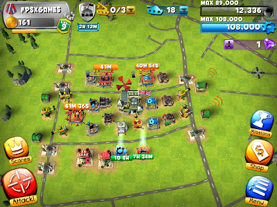 IOS game like Clash of Clans - Friendly Fire