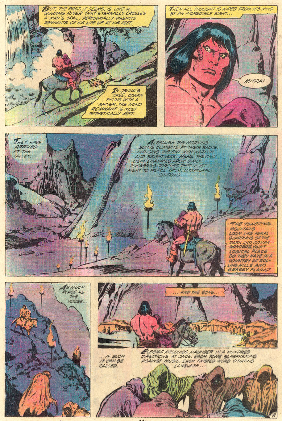 Conan the Barbarian (1970) Issue #118 #130 - English 9