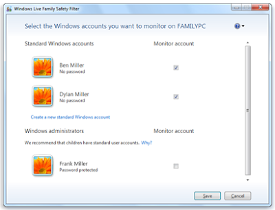 Windows Live Family Safety Download
