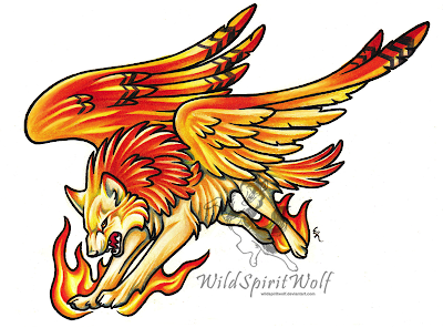 Phoenix_Wolf_Color_Tattoo