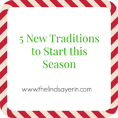 5 new traditions to start this season