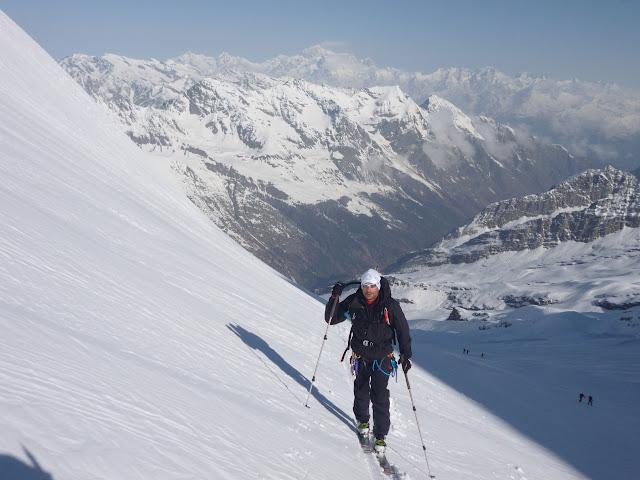 Esqui de montaña:Valle de Aosta,Gran Paradiso (461m)