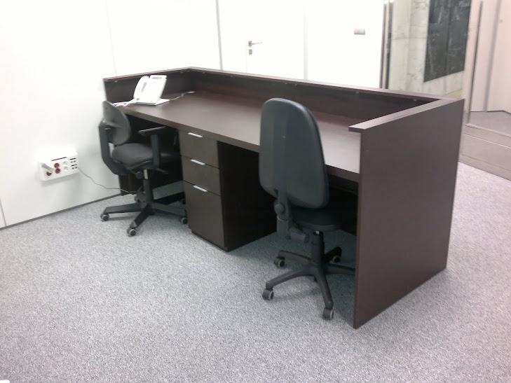 imagenes de muebles para recepcion - muebles de recepciones para oficinas modernos