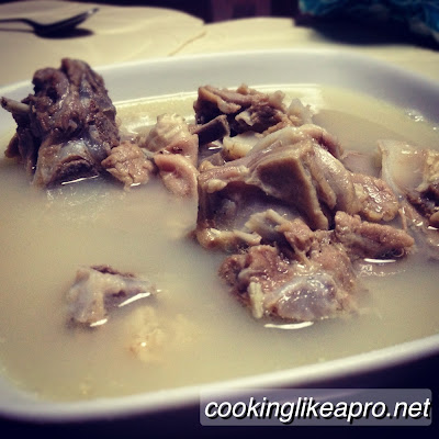 Cooking Sinampalukang Kambing (Goat recipe)