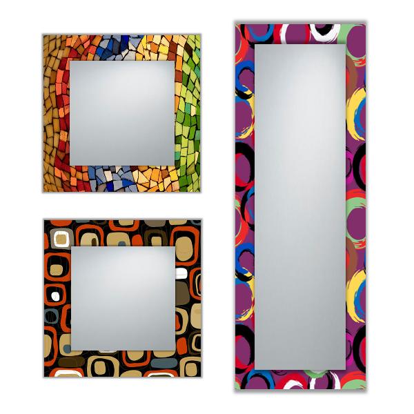 Krea habitat espejos modernos a medida personalizables for Marco espejos modernos