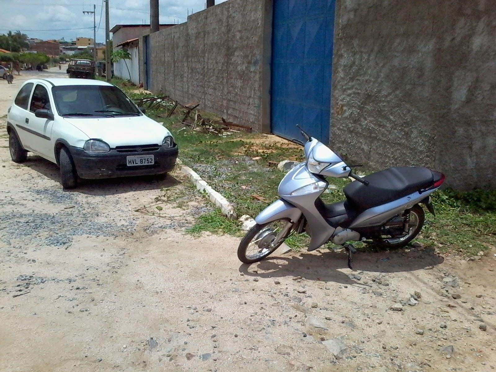 Funcionária da educação de Varjota morre em colisão entre carro e moto.
