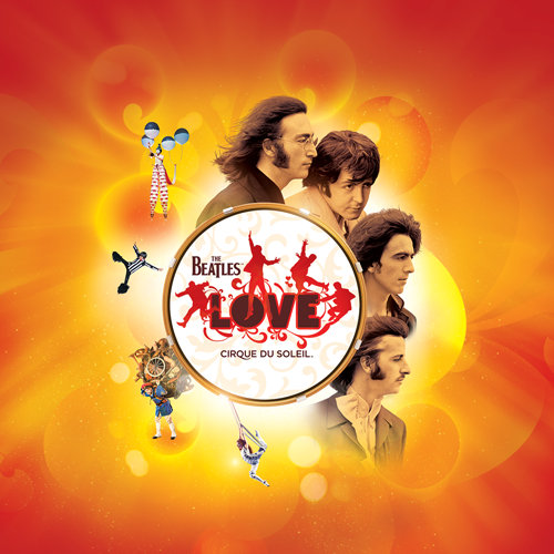 HEAD TO LAS VEGAS CELEBRATE WITH THE BEATLES LOVE BY CIRQUE DU SOLEIL AT THE MIRAGE