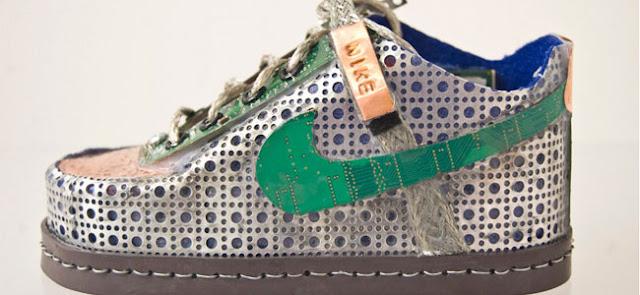Os Nikes de Gabriel Dishaw