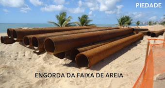 ENGORDA DA FAIXA DE AREIA