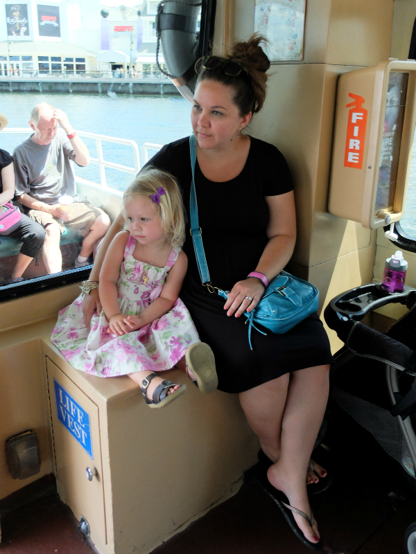 Walt Disney World's The Boardwalk Inn - boating to the International Gateway