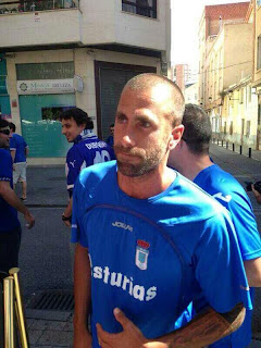 Aulestia asistió a Albacete para animar al Real Oviedo