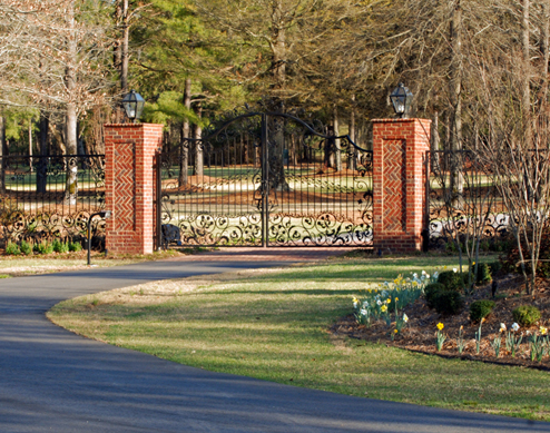 Brick Driveway Pillars5