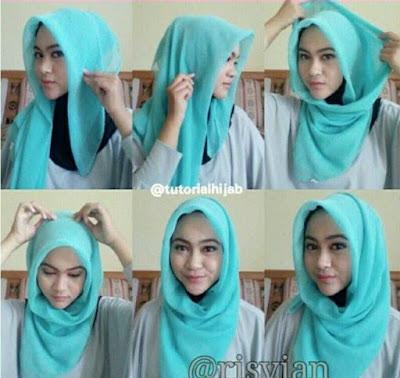 Tutorial Hijab Simpel Terbaru dan Modis