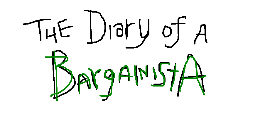 The Diary of a Bargainista