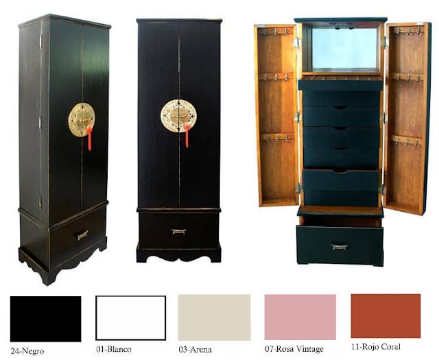 muebles para guardar ropa