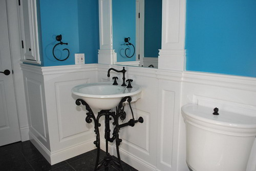 Wainscoting Ideas For Bathrooms: Looking For Creative Interior Wall Paneling Ideas To Add