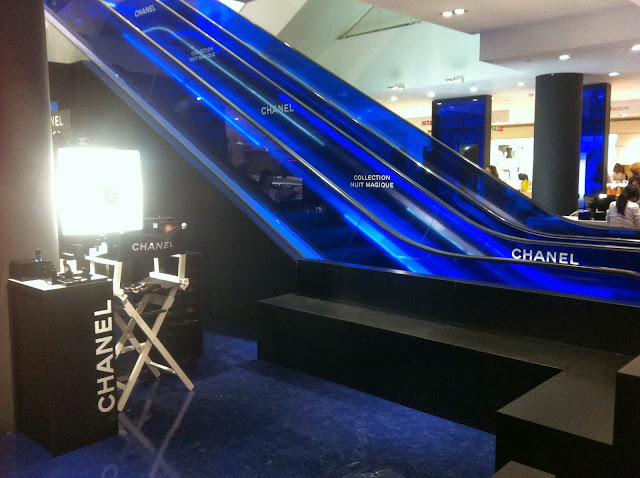 VFNO 2013 Vogue Fashion's Night Out CHANEL Make Up Bar La Rinascente