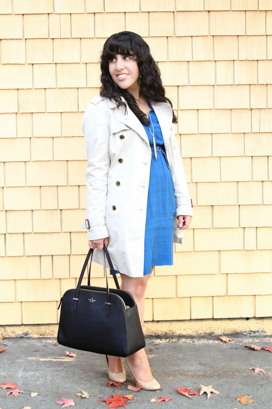 Trench and Dress