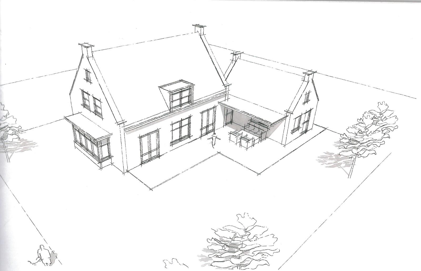 het bouwen van ons nieuwe huis straat veranderd ontwerp