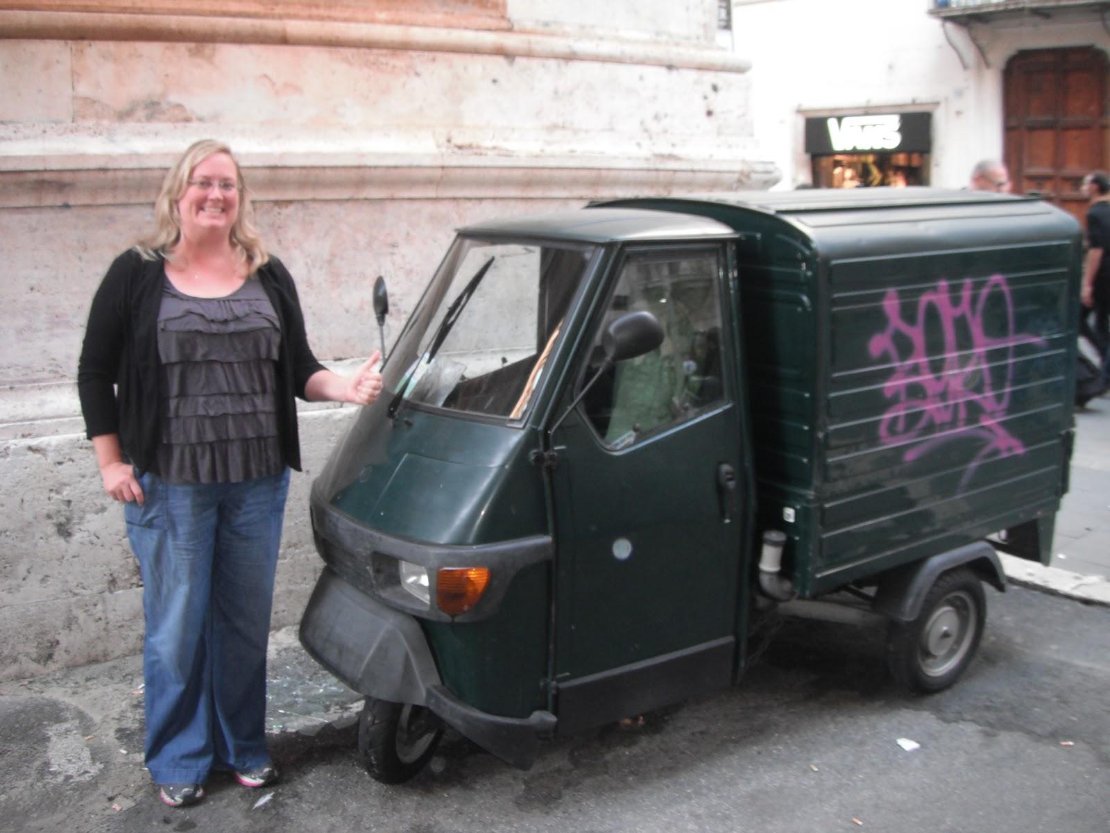 Tiny Trucks Agoraphobia Tiny Cars And Food Roman Edition