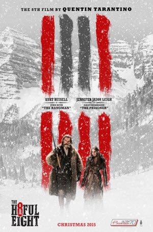 The Hateful Eight: Official Release Poster