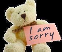i am sorry..