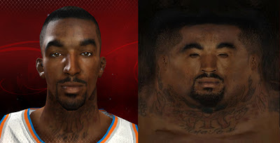 NBA 2K13 J. R. Smith Cyberface Patch