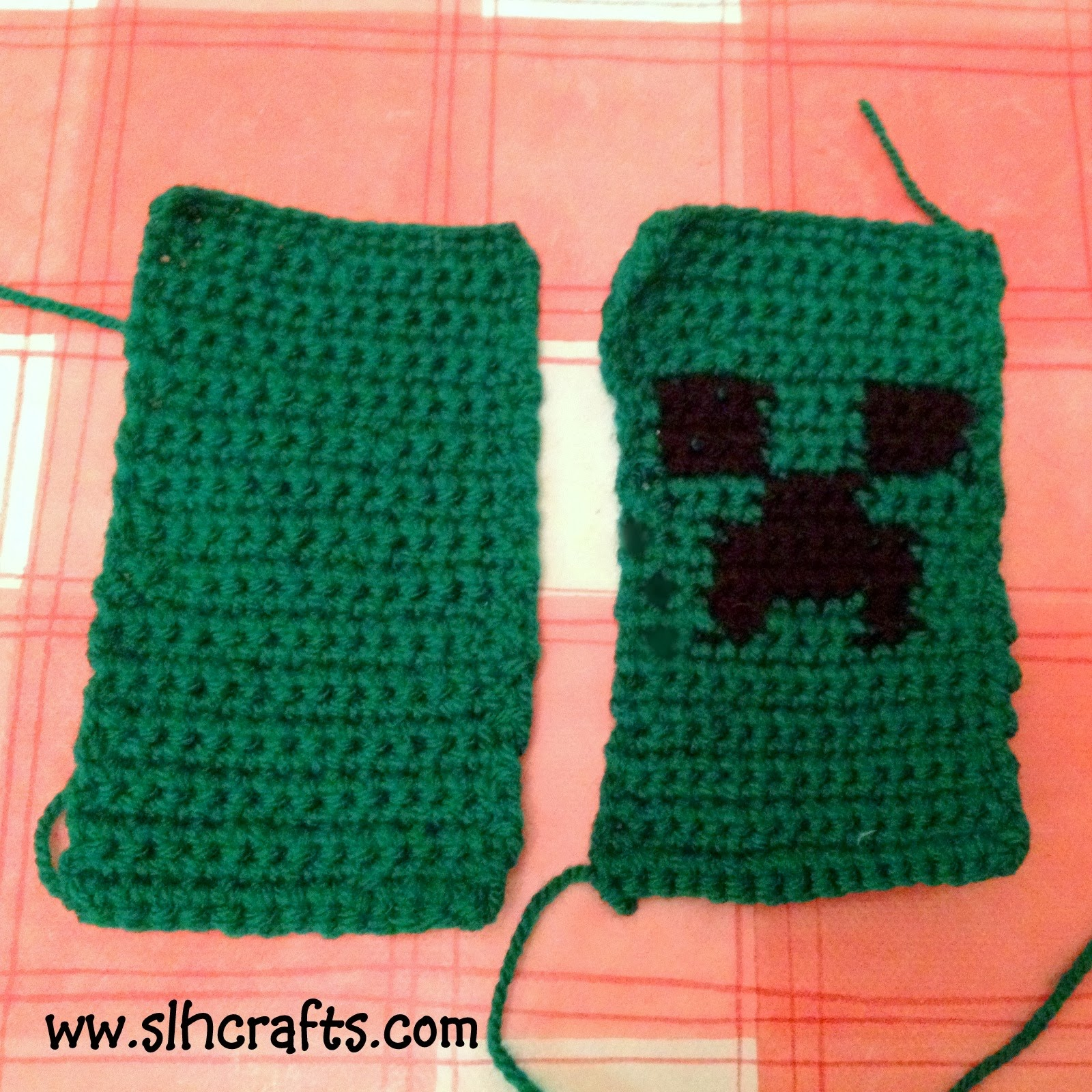 Minecraft Crochet Phone Case Tutorial