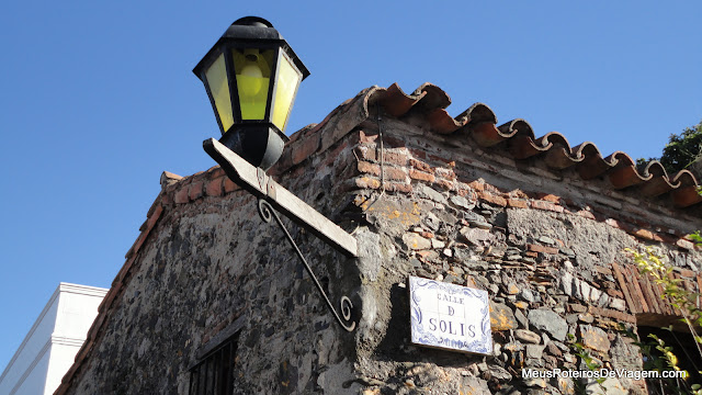 Casa de pedra em Colonia del Sacramento - Uruguai