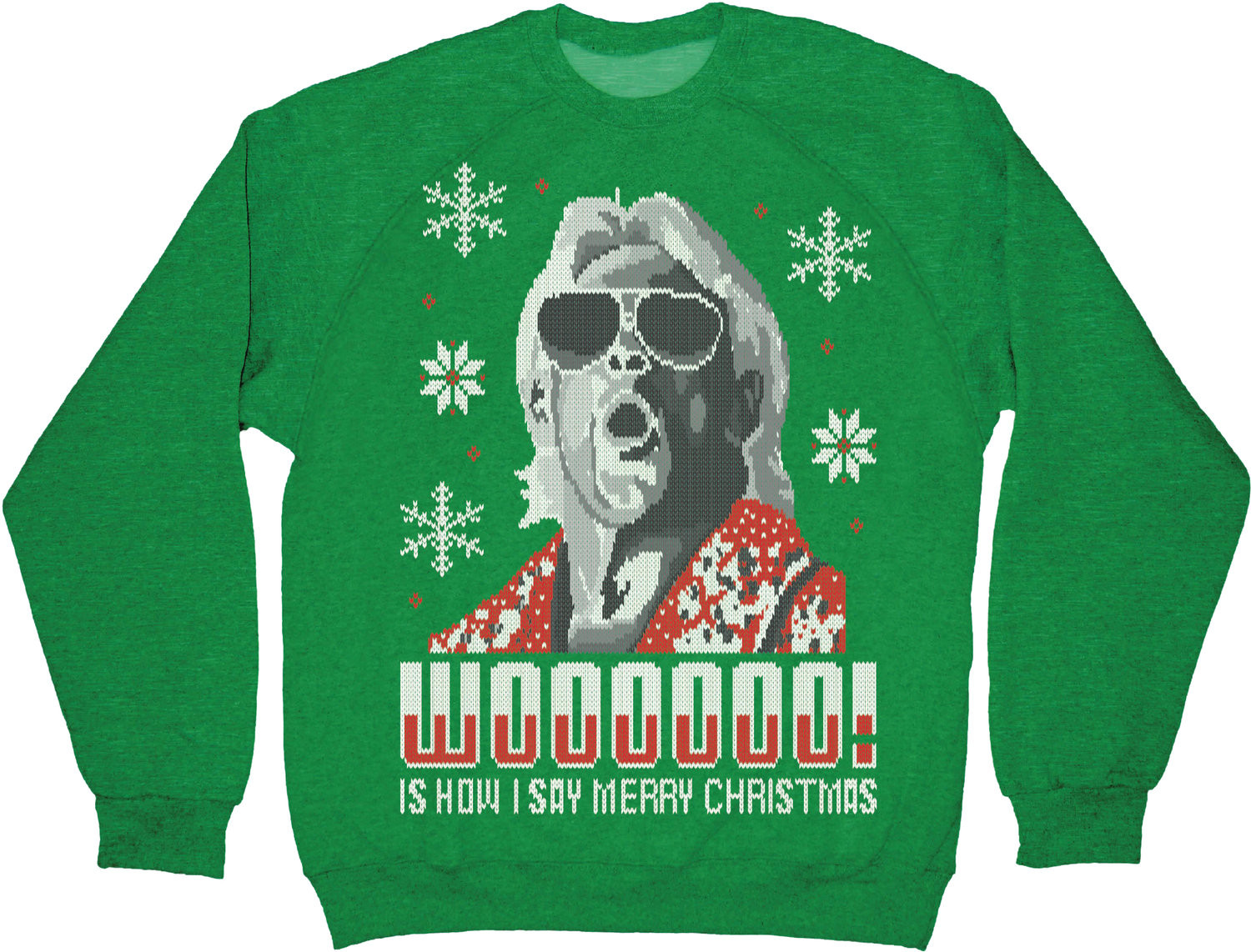 The Nerdy Gentlemen: Holiday Nerd: Ric Flair Christmas Sweater