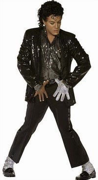 80s Michael Jackson Billie Jean Costume