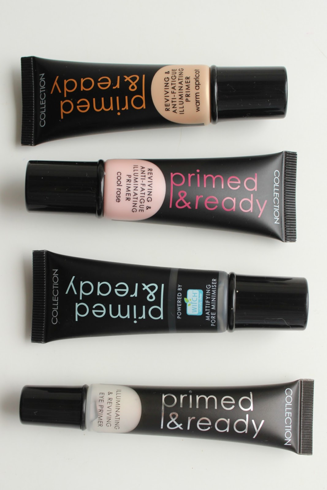 Collection Primed and Ready Primer Collection