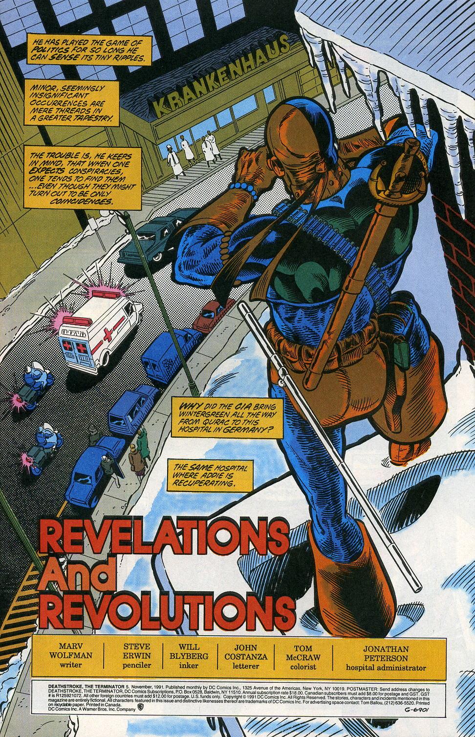Deathstroke (1991) Issue #5 #10 - English 3