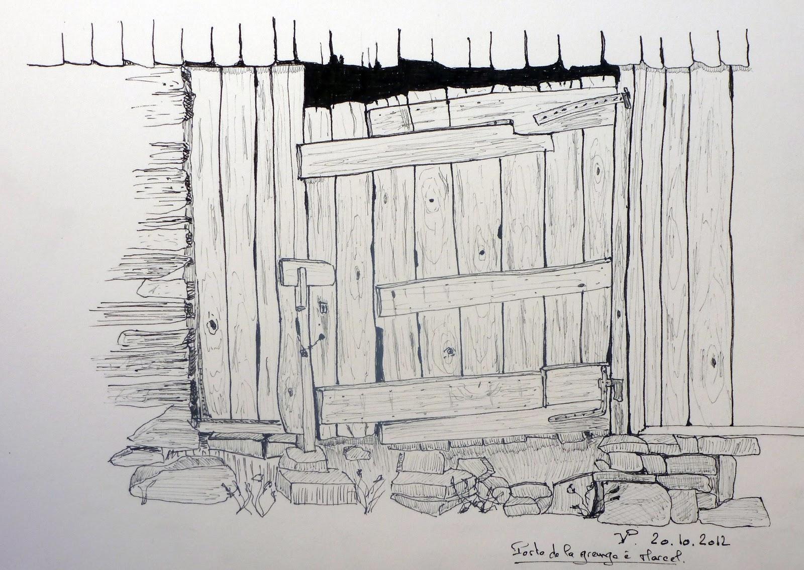 Mes crobards porte de grange - Fabriquer une porte de grange ...