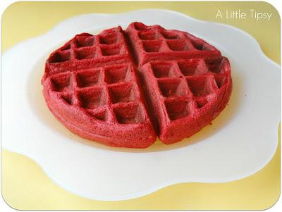 Red Velvet Cake Waffle Recipe