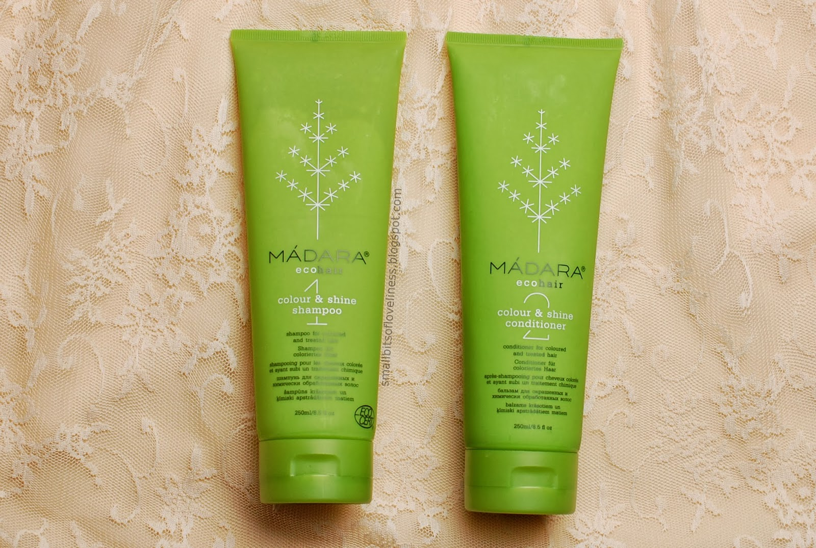 Madara Eco Hair Colour Shine Shampoo Conditioner