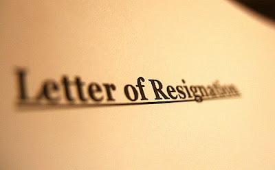 contoh surat pengunduran diri 2013