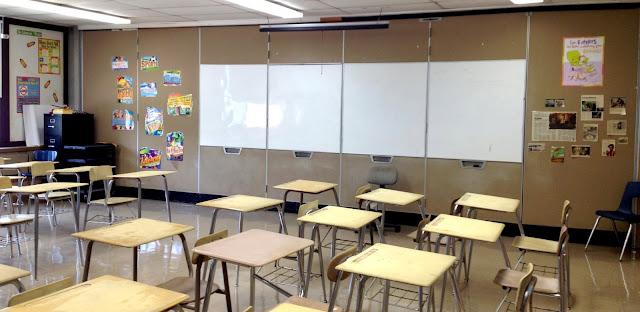 7th grade ELA classroom