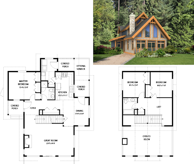 Dise os de casas e interiores casas de 100 m2 a 200 m2 for Disenos de casas 120 m2